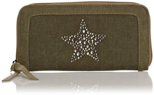 Friis & Company Asha Solid Star Wallet, Portafoglio donna