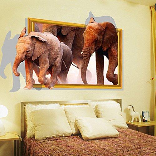 3d-afrikanische-elefanten-wand-aufkleber-home-aufkleber-pvc-wandmalereien-vinyl-papier-house-dekorat