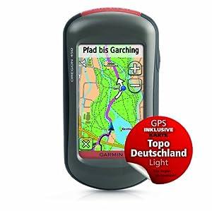Garmin BUNDLE GPS-Handgerät Oregon 450 + Topo Deutschland Light, anthrazit, 010-00697-49