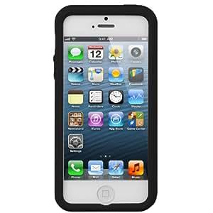 Melkco Kubalt Double Layer iPhone5 5s Phone Case TPU Shell Cover All Black