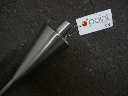 Point-garden fiaccola da giardino acciaio inox, 114 cm, 1-pezzo