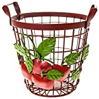 Red Iron Basket - Small
