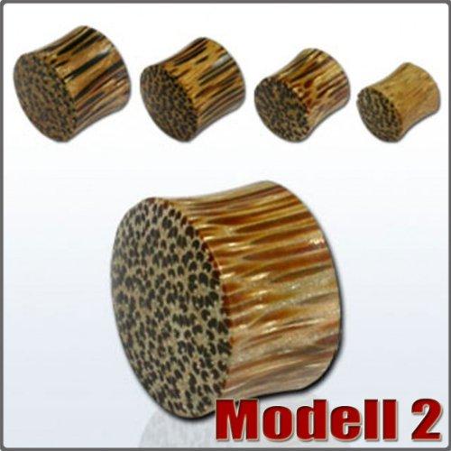 3-25mm-plug-holz-horn-flesh-tunnel-tube-holzplug-braun-schwarz-ebenholz-palm-grosse25-mmmodellmodell