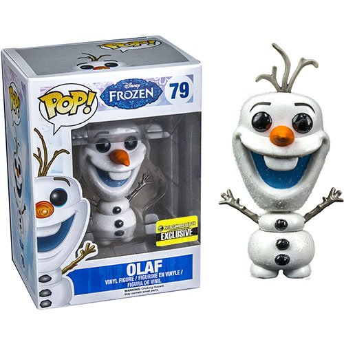 Disney Frozen Glitter Olaf the Snowman Pop! Vinyl Figure - 1