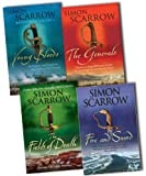 Simon Scarrow Simon Scarrow The Wellington and Napoleon Quartet 4 Books Collection Pack Set RRP: £31.96 (Young Bloods: Revolution 1769-1795, The Generals, Fire and Sword, The Fields of Death)
