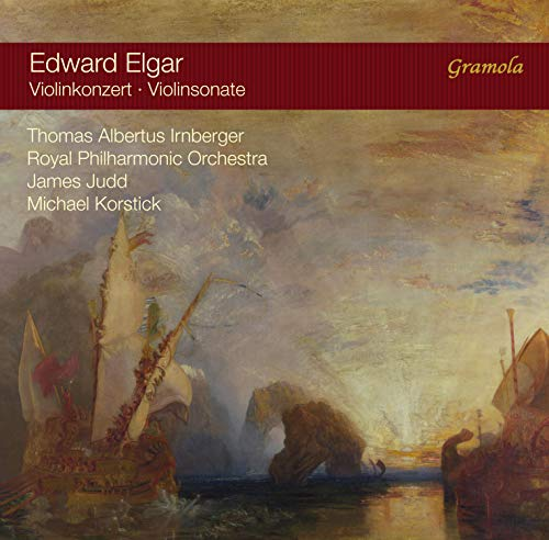 SACD : THOMAS ALBERTUS IRNBERGER - ROYAL PHILHARMONIC ORCHESTRA - MICHAEL KORSTICK - Violinkonzert 61 /  Violinsonate 82 (Hybrid SACD)