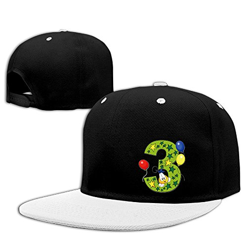 mysterie-balloon-star-number-three-white-casual-men-cap
