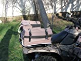 51e5bpJ6A3L. SL160  FOLD N GO REAR RACK ALL TERRAIN VEHICLE (ATV) CARGO BAG   Khaki