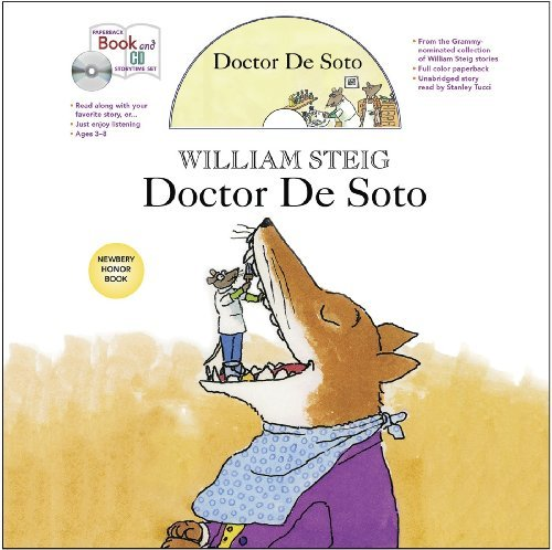 Doctor De Soto book and CD storytime set (Paperback Book and CD Storytime Set) by William Steig (2012-11-27)