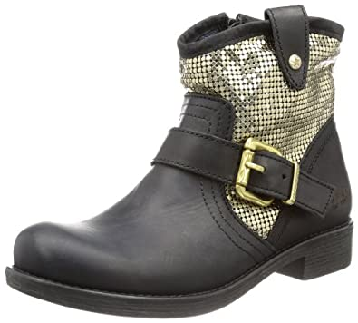 REPLAY Carine GWL18 .000.C0006L, Damen Biker Boots, Gold (GOLD 26), EU 38
