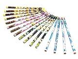鉛筆 ペット PET 4種類柄4本計16本1セット 2B アニメーション 映画 文房具 学用品