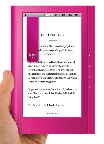 Ematic EBW204P 7-Inch eGlide Reader 2 Wifi E-Book Reader and Android Tablet (Pink)