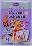 Disney Winnie the Pooh: Let's Learn Flashcards
