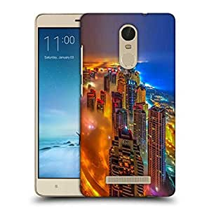 Snoogg Colorful City Printed Protective Phone Back Case Cover For Xiaomi Redmi Note 3