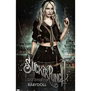Sucker Punch Movie Baby-Doll Emily Browning Poster Print