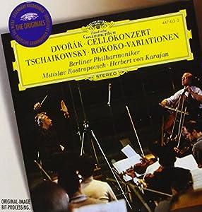 Dvorak : Concerto pour violoncelle Op  104 - Tchaikovsky : Variations sur un thème rococo