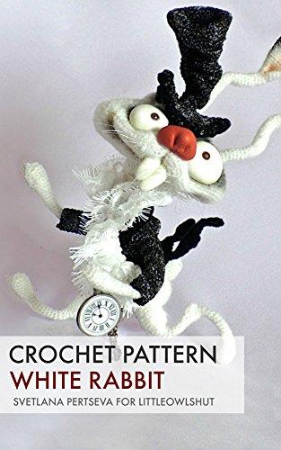 Crochet pattern White Rabbit (LittleOwlsHut)