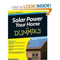 51e5oCVQvPL. BO2,204,203,200 PIsitb sticker arrow click,TopRight,35, 76 AA240 SH20 OU01  Solar Power Your Home For Dummies (For Dummies (Home & Garden)) (Paperback)
