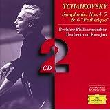 """Tchaikovsky: Symphonies Nos.4, 5 & 6 """"Pathétique"""" (2 CD's)"""
