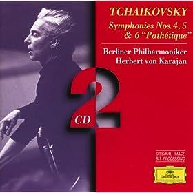 "Tchaikovsky: Symphonies Nos.4, 5 & 6 ""Path�tique"" (2 CD's)"
