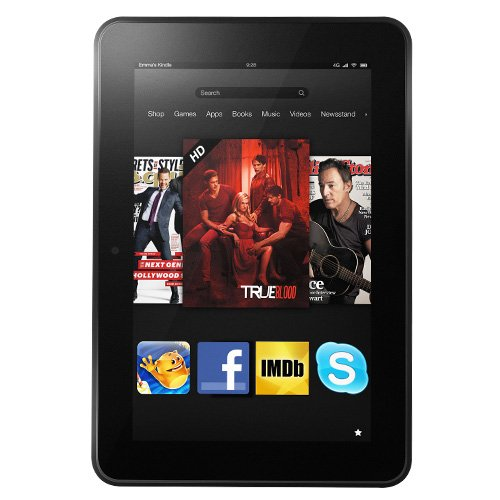 Kindle Fire HD 8.9&#8243; 4G LTE Wireless, Dolby Audio, Dual-Band Wi-Fi, 64 GB &#8211; Includes Special Offers