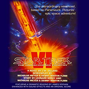 Star Trek VI: The Undiscovered Country (Adapted) Audiobook