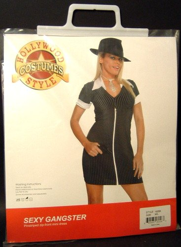 Sexy Gangster Female Adult Costume