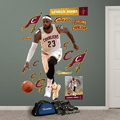 2d689ca67096 NBA Cleveland Cavaliers LeBron James Forward Fathead Real Big ...