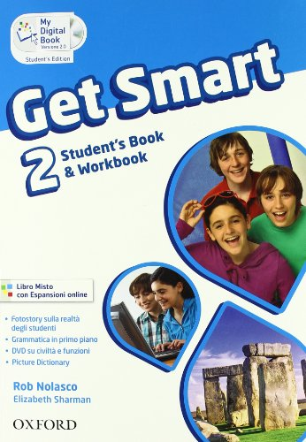 get-smart-students-book-workbook-con-espansione-online-per-la-scuola-media-2