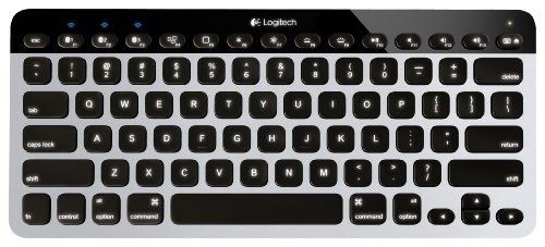 Logitech Bluetooth Easy-Switch K811 Keyboard For Mac, Ipad, Iphone - Silver/Black