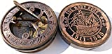 This Is Hand-made Copy of Brass Sundial Compass, C-3048