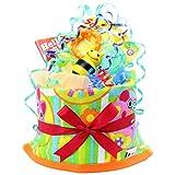 Amazon.co.jpご出産のお祝いにポップで楽しいオムツケーキ 《マイ リトル パル》