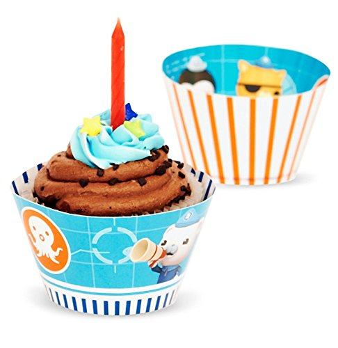 The Octonauts Reversible Cupcake Wrappers (12) - 1