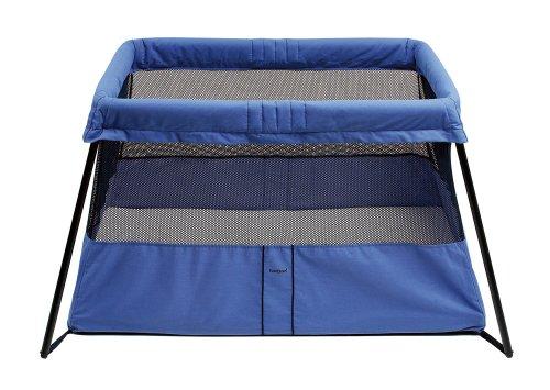Babybj 214 Rn Travel Crib Light Blue Baby Playards