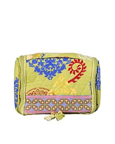 Home Essentials and Beyond Atousa Mini Travel Organizer, Yellow/Pink