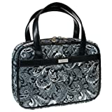 Gray Quilted Paisley Purse-Style Bible / Book Cover w/