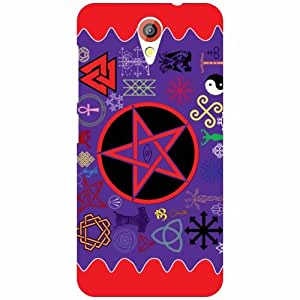 Via flowers Back Cover For HTC Desire 620 Holy Multi Color