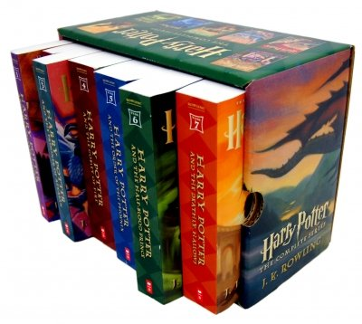 Used Book Buybackharry Potter 1 7 Books Complete Collection Box Set