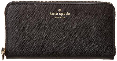 Kate Spade New York Cherry Lane Lacey Pwru3438 Wallet,Black,One Size front-1032839