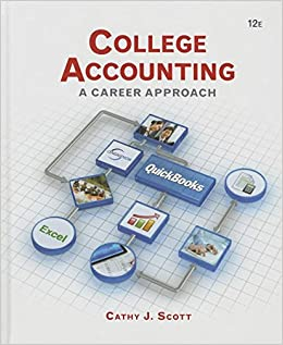 College Accounting: A Career Approach (with QuickBooks Accountant 2015 CD-ROM)