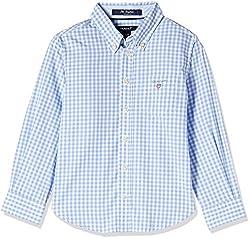 Gant Boys' Shirt (GBSEF0005_Capri Blue_S)