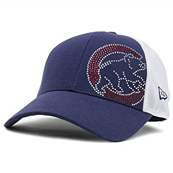 Chicago Cubs Sequin Shimmer 9FORTY Adjustable Cap by New Era by New Era