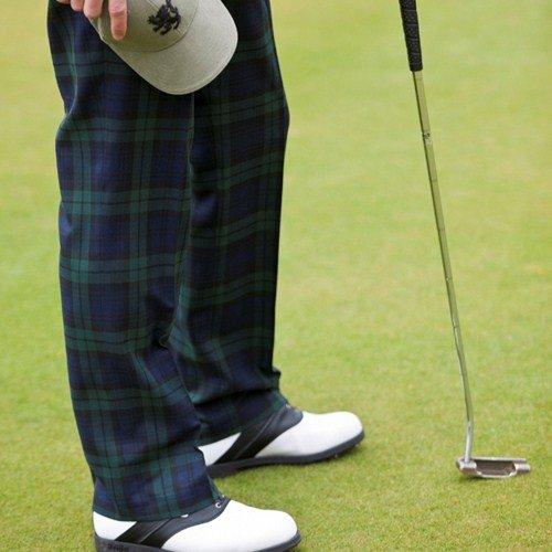 merio pantalon de golf ecossais en tartan menzies dress tour de taille 96cm. Black Bedroom Furniture Sets. Home Design Ideas