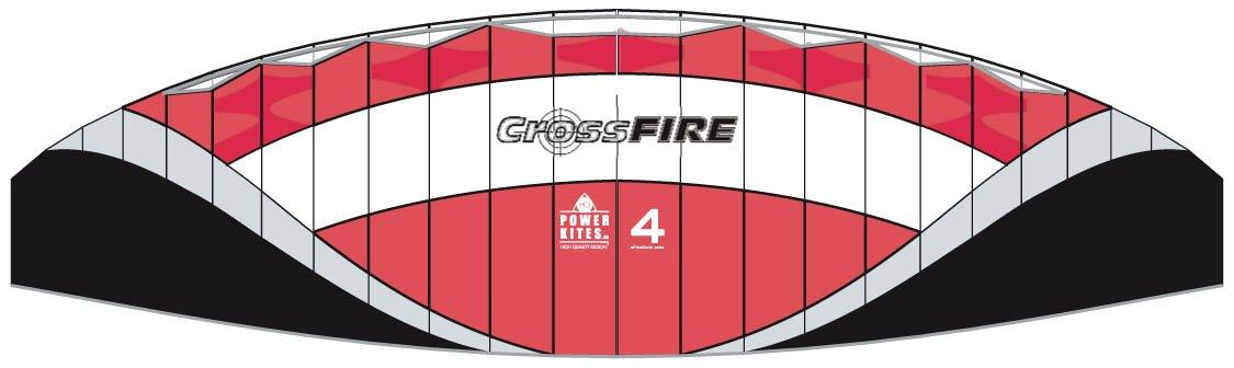 HQ Powerkites Crossfire II 4.0 R2F kaufen