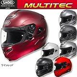 SHOEI:システムヘルメット マルチテック/MULTITEC マットブラック / カラー:マットブラック / サイズ:L/59cm