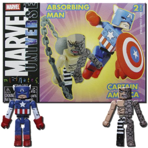 Marvel Minimates 5 Captain America and Absorbing Man