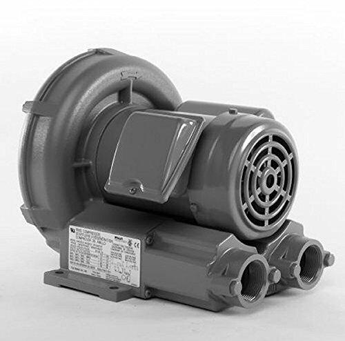Vfc300P-5T Fuji Regenerative Blower .51 Hp, 5.0/2.5 Amps, 115/230 Volts