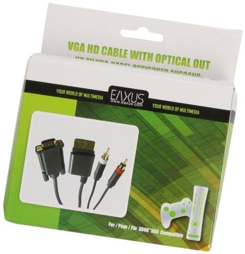 HD AV VGA-Kabel optischer Ausgang HDTV für Xbox360, Xbox 360