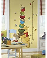 Roommates Rmk1501Gc Pooh And Friends Peel & Stick Growth Chart