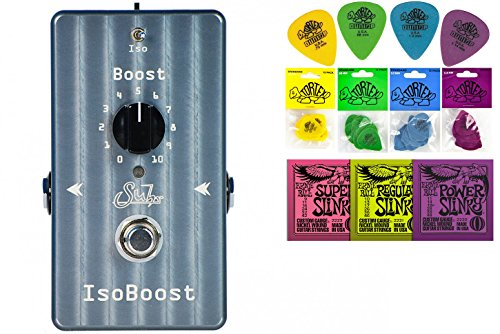 Suhr Iso Boost tring Bundle w/ free 2 Items: Ernie Ball Guitar Strings, 1 Dozen Dunlop Tortex Picks
